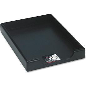 Wood Tones Desk Tray, Legal, Black