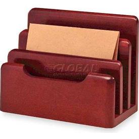 Wood Tones Desktop Sorter, Mahogany