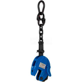 Vestil Vertical Plate Clamp with Chain Lifting Attachment CPC-10 1000 Lb. Cap.