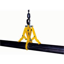 "Vestil HD Pipe Grab PG-S-140 8.63"" to 9.05"" O.D. Steel Pipes 1400 Lb. Cap."