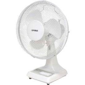"""TPI 12"""" Oscillating Desk Fan ODF-12 1200 CFM"""