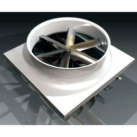 "Absolute Air 72"" Ceiling Fan With Adjustable Shutters EN060x0973 3 HP 55000 CFM"