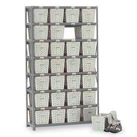 Basket 65930 Rack Locker For 32 Baskets 40x13x79