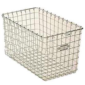 """Steel 9621 Wire Locker Basket 9""""W"""