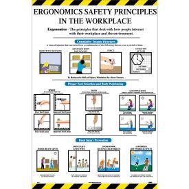Poster, Ergonomics Safety Principles, 36 x 24