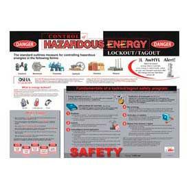 Poster, Hazardous Energy Control, 18 x 24