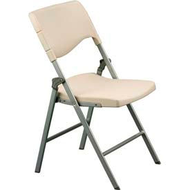 Blow Mold Folding Chair - Ivory (Priced 2 per Carton)