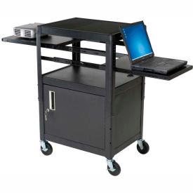 Dual Adjustable Laptop Cart