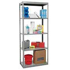 "Hallowell Steel Shelving 36""Wx18""Dx85""H Open Clip Style 5 Shelf"