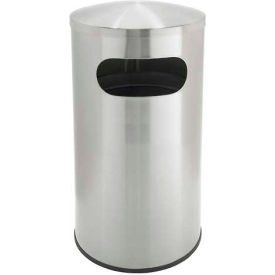 Stainless Steel Waste Container- Allure Dome Top
