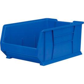 """Akro-Mils Super-Size AkroBin® 30288 - Stacking Bin 16-1/2""""W x 23-7/8""""D x 11""""H Blue"""