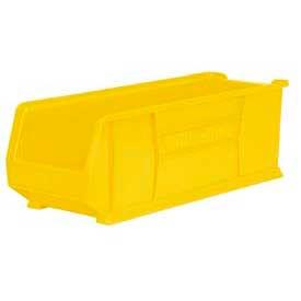 """Akro-Mils Super-Size AkroBin® 30292 - Stacking Bin 11""""W x 29-7/8""""D x 10""""H Yellow - Pkg Qty 4"""