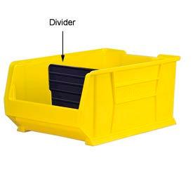Akro-Mils Width Divider 41287 For 30287/30292/30293 Stacking Bins, Price Per Pkg of 6