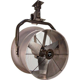 """Triangle Engineering 24"""" Oscillating Vertical Mount Fan With Poly Housing 245534 1/2 HP 5600 CFM"""