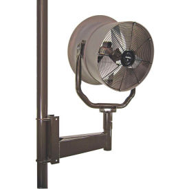 """Triangle Engineering 24"""" Horizontal Mount Fan With Poly Housing 245539 1/2 HP 5600 CFM"""