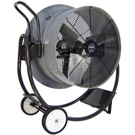 """Triangle Engineering 30"""" Portable Blower Fan With Poly Housing HVD3013 1/2 HP 7900 CFM"""