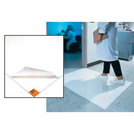 """Clean Room Mat 36""""X45"""" White Case Of 4"""