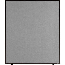 "Office Partition Gray 36-1/4""W X 42""H"