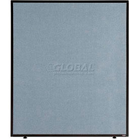 "Office Partition Panel, 36-1/4""W x 42""H, Blue"