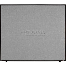"Office Partition Panel, 48-1/4""W x 42""H, Gray"