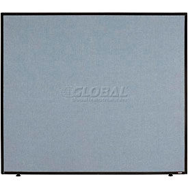 "Office Partition Blue 48-1/4""W X 42""H"