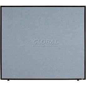 "Office Partition Panel, 48-1/4""W x 42""H, Blue"