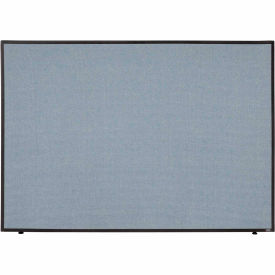 "Office Partition Panel, 60-1/4""W x 42""H, Blue"