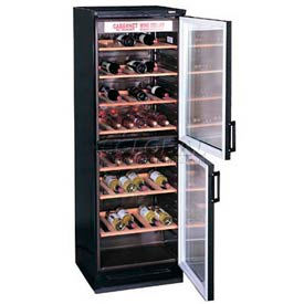 Summit Full-Sized Two-Door Wine Cellar W/European Preservation System
