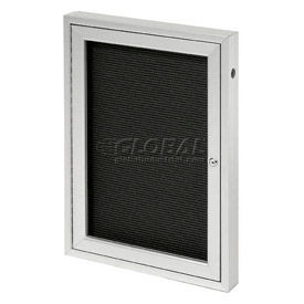 """United Visual Products One-Door Outdoor Letter Board - 24""""W x 36""""H"""