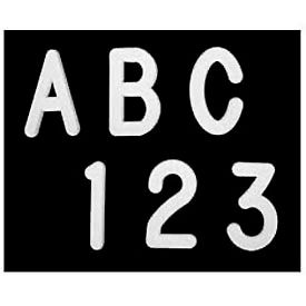 """United Visual Products 1"""" Letters - 435 Pieces"""