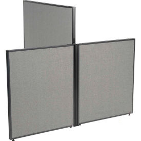 "Low-High 3 Way For Two 42"" Low Panel"