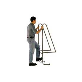 "10 Step Steel Dock Ladder - 18""W x 156""H"