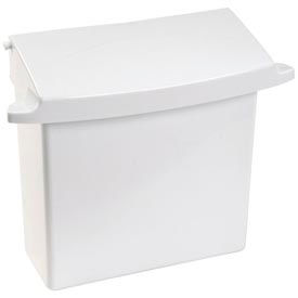 Rubbermaid® Wall Mounted Sanitary Napkin Receptacle - FG614000 WHT