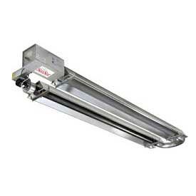 SunStar Propane Infrared Heater U-Tube Vacuum - SIU175-40-L5 - 175000 BTU