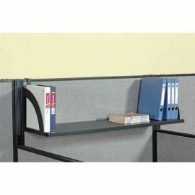 "Hanging Shelf For 60""W Panel - Black"