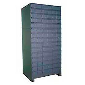 """Durham Steel Drawer Cabinet 029-95 - With 90 Drawers 34""""W x 17-1/4""""D x  69-1/8""""H"""