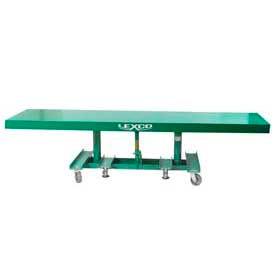 "Lexco-Wesco Extra Long Deck Lift Table 492131 120""L x 30""W 2000 Lb. Capacity"