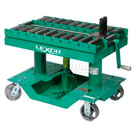 """Optional Roller Conveyor Top 499206 for Lexco® - Wesco® 30""""L x 20""""W Lift Table"""