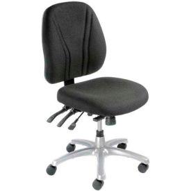 8-Way Adjustable Ergonomic Chair - Black