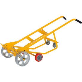 Vestil Multi-Purpose 4-Wheel Pallet Drum & Cradle Truck RDBT-SS Steel Wheels