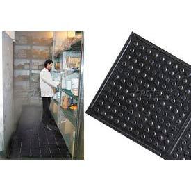 """Deep Freeze Rubber Antifatigue Mat 2' X 60' 3/8"""" Thick Black"""