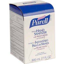 Purell Bag-In-Box Hand Sanitizer Original Formula Refill - 12 Refills/Case 9657-12
