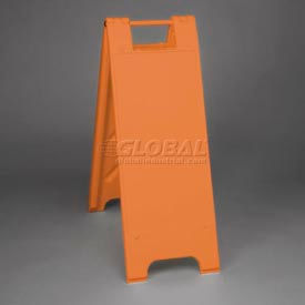 """Minicade Barricade Sign Stand 36"""" H With 2 Panels No Sheeting - Pkg Qty 2"""