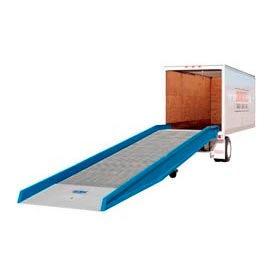 """Bluff® 25SYS8436L Steel Yard Ramp Forklift Dock Ramp 36'Lx84""""W 25,000 Lb. with Ramp Clamps"""