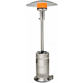 SunStar Patio Propane Heater PHS40 L6   40000 BTU Stainless Steel