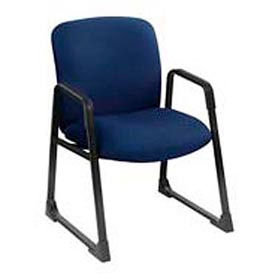 Big & Tall Guest Chair Blue