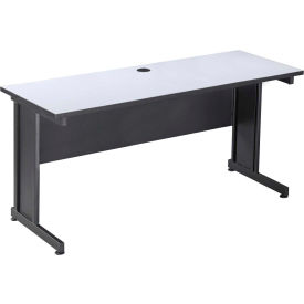 "72"" Desk Gray"