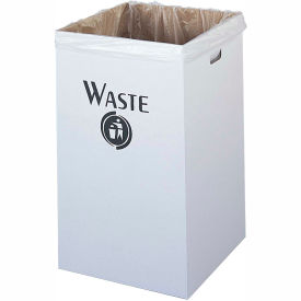 Corrugated Recycling Waste Receptacle - Package of 12