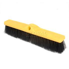 """Rubbermaid® 18""""W Push Broom Head, Medium Tampico Fill - FG9B0700BLA - Pkg Qty 12"""