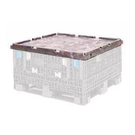 ORBIS Lid CKD4845 For BulkPak Folding Bulk Shipping Container 48 x 45 Black